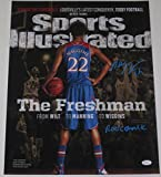 ANDREW WIGGINS SIGNED 16X20 PHOTO AUTOGRAPH SPORTS ILLUSTRATED INSCRIPTION JSA B