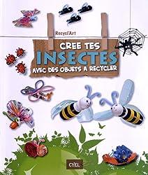 recycl'art ; coffret ; cree tes animaux avec des objets a recycler ; cree tes insectes avec des objets a recycler