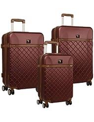 Anne Klein Greenwich Three Piece Hardside Luggage Set (20In/24In/28In)
