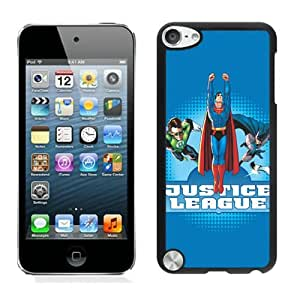 Case For iPod Touch 5,Justice League Power Trio Black iPod Touch 5 Case Cover