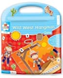 Childrens Travel Traditional Game Magnetic Set Wild West Hangman