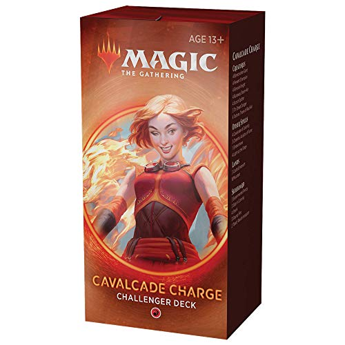 Cavalcade Charge Deck   Magic: The Gathering Challenger Deck 2020   Tournament-Ready   75 Cards + Tokens
