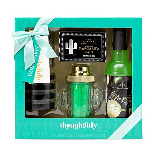 Thoughtfully Gifts, Skinny Margarita Set, Includes 25.3...