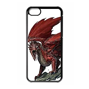 linJUN FENGProtection Cover Hard Case Of Red Dragon Cell phone Case For iphone 4/4s