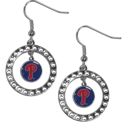 MLB Boston Red Sox Rhinestone Earrings