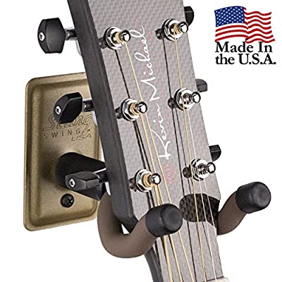 String Swing BCC11K Metal Home and Studio Guitar Keeper Packs