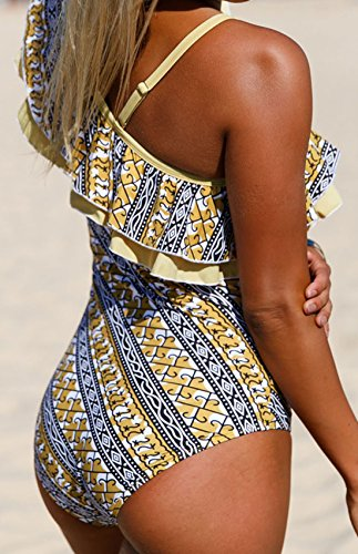 Frieda Fashion - Traje de una pieza - Étnica - 100 DEN - para mujer