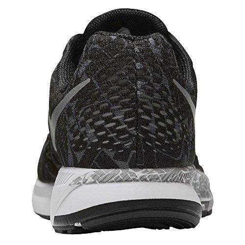 Nike Air Zoom Pegasus 33 Rostarr Chaussures De Course Noir / Gris Foncé / Blanc / Refléter Argent
