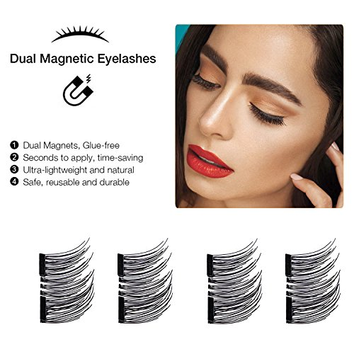 how to put on magnetic lashes