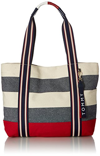 Shopper Tommy Canvas Women Item Bag for Navy for Bag Hilfiger Shopper Women Natural Canvas womens Item rTwPOxar