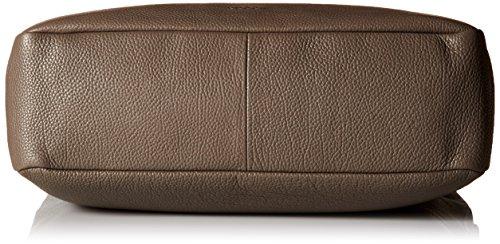 Ecco SP Soft, Borse a Tracolla Donna, Grigio (Grau (90186), 38 x 33 x 13 cm (B x H x T)
