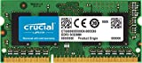 Crucial 4GB Single DDR3/DDR3L 1600 MT/S (PC3-12800) Unbuffered SODIMM 204-Pin Memory - CT51264BF160B