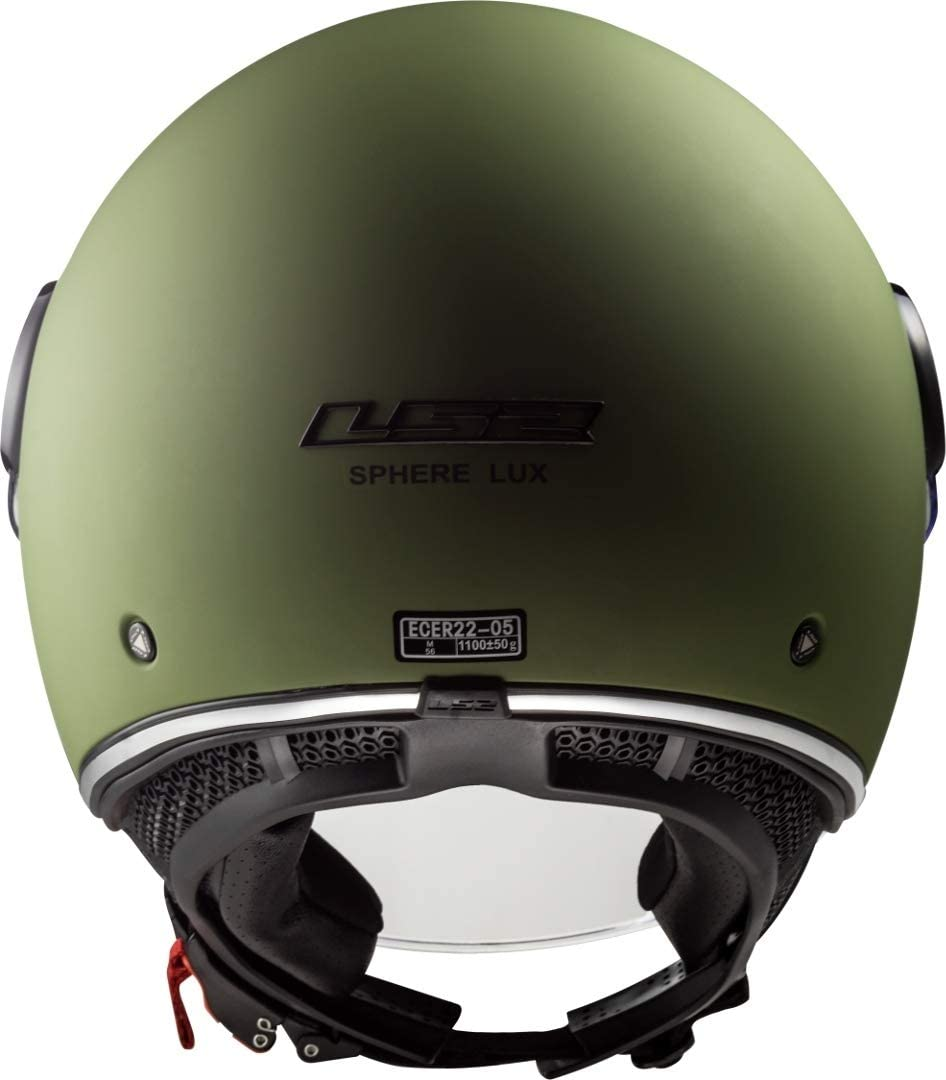 LS2 Caschi Moto OF558 Sphere Lux Matt Military Verde