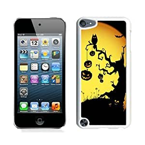 Personalization Halloween White iPod Touch 5 Case 2
