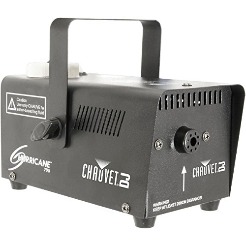 Chauvet Lighting Chauvet DJ 700 Hurricane Fog Machine, BLACK (H700)]()