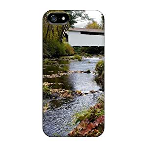 For Iphone 6 Plus Phone Case Cover Slim [ultra Fit] Covered Bridge Oregon Harris Protective