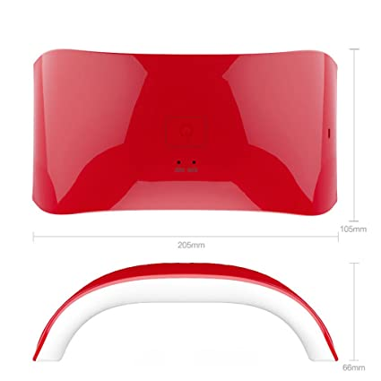 Secador de uñas - Luz solar 24w Clavo Máquina de fototerapia Cable USB Clavo Clavo Herramientas