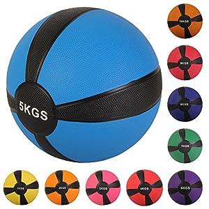 Medizinball Fit Ball Gymnastikball 1 kg, 2 kg, 3 kg, 4 kg, 5 kg, 6 kg, 7 kg,...