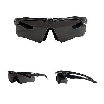 Douerye Gafas Deportivas para Montar Gafas, Entusiastas De Los Militares Gafas Tácticas, Gafas De Tiro Gafas Antibalas. Gafas De Sol Polarizadas UV.