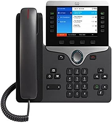 Cisco Business Class VOIP Phone CP-8861-K9= IP, Requires Cisco  Communications Manager