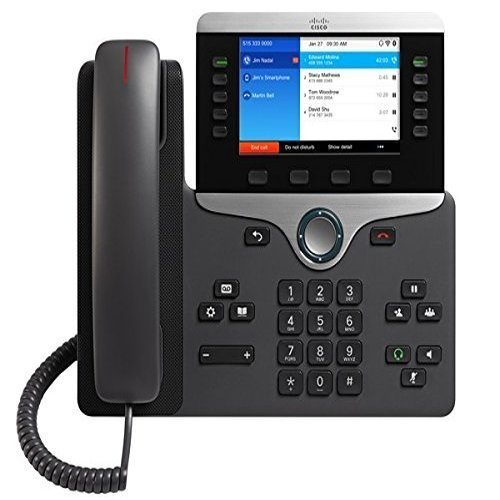 Cisco Business Class VOIP Phone CP-8861-K9= IP, Requires Cisco Communications Manager (Power Supply Not Included) by Cisco