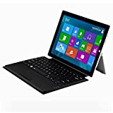 Rii K11 Wireless Bluetooth Keyboard Case with Rechargable Li-ion Battery for Microsoft Surface Pro 3 / 4