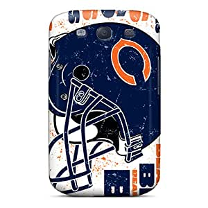 New Arrival Case Specially Design For Galaxy S3 (chicago Bears)