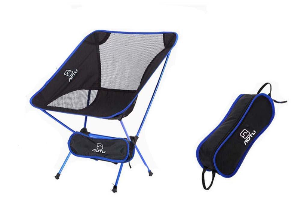 Onfly Klappstuhl im Freien, beweglicher zusammenklappbarer kampierender Schemel, Ultralight faltende wandernde/tragende Tasche