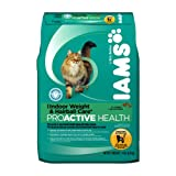 Iams Pro-Active Health Adult Indoor Weight and Hairball Care 14 Lbs 6.35 Kg, My Pet Supplies