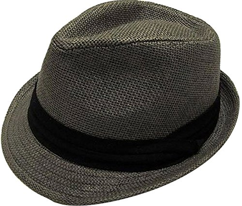 AbbyLexi Men Women Outdoors Summer Short Brim Straw Fedora Sun Hat From  AbbyLexi. Pass Reviews appear natural 18e2c750bcfd
