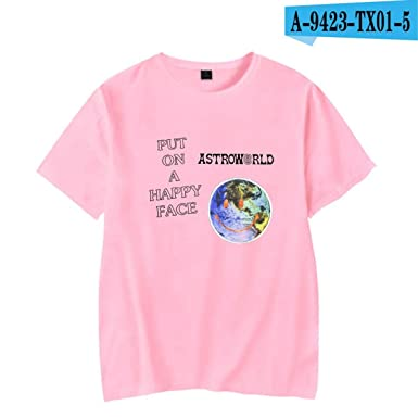 a7e63bc1444d Travis Scott T Shirt Astroworld ASTROWORLD T-Shirts Men/Women Hip Pop  Clothes