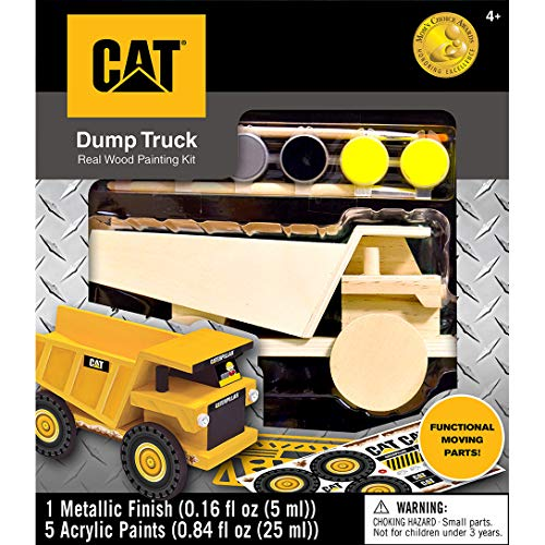 (Masterpieces Cat Dump Truck Caterpillar Paint Kits)