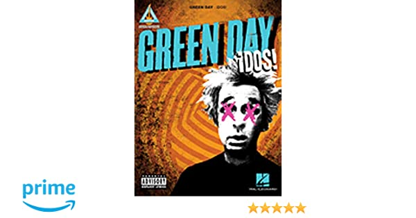 Green Day Tre Guitar Recorded Versions TAB Music Book