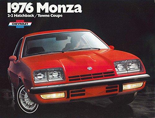 1976 Chevrolet Monza sales brochure: 2+2 Hatchback & Towne Coupe - Towne Coupe