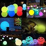 LOFTEK LED Floating Pool Light Ball with