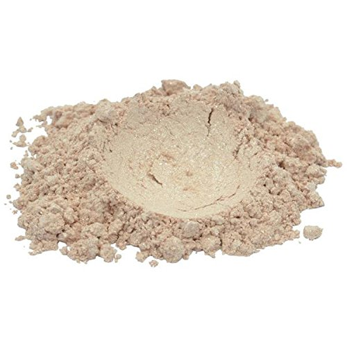 Ivory Resin Rose - Ivory Lace/Beige/Rose Luxury Mica Colorant Pigment Powder by H&B OILS CENTER Cosmetic Grade Glitter Eyeshadow Effects for Soap Candle Nail Polish 1 oz
