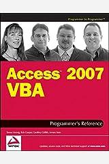 Access 2007 VBA Programmer's Reference Paperback