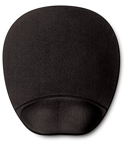 HandStands-Memory-Foam-Mouse-Pad-Mat-with-Wrist-Rest-Black