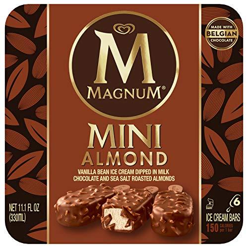 Cream Milk Almond Ice - Magnum Mini Ice Cream Bars, Almond 6 ct