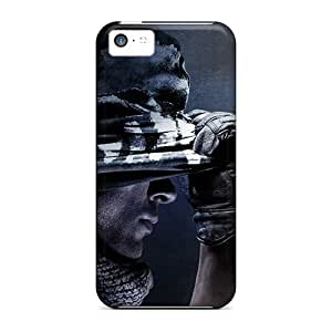 High Quality EZxcO4461edITL Call Of Duty Ghosts Tpu Case For Iphone 5c