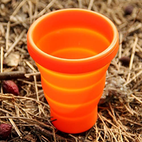 Amazon.com : HURA Outdoor Tablewares - Fire Maple 200ml Silicon Mug Outdoor Folding Telescopic Folding Cups Camping Cooking Set Cubiertos Plegables FMP-319 ...