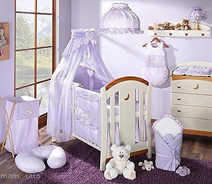 Juego de cama para bebé, 14 artículos, saco para dormir, nido de ángel