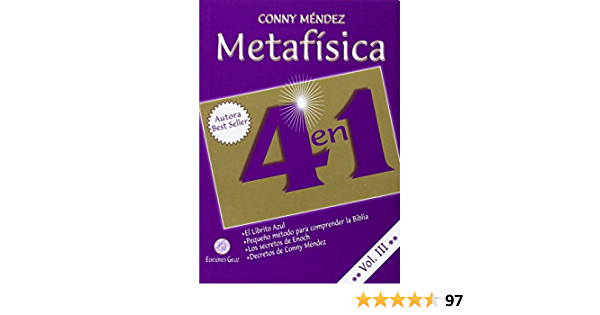 Metafisica 4 En 1 Vol Iii Spanish Edition Conny Mendez 9789803690809 Books