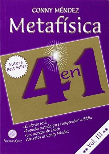 Metafisica 4 en 1. Vol III (Spanish Edition)
