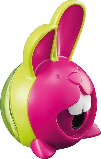 Green Westcott E-66064 00 Rabbit 3D Eraser with One Hole Sharpener