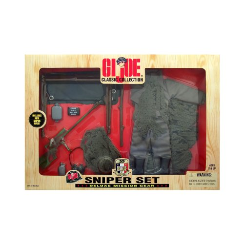 Gi Gear Mission Joe (GI Joe Classic Collection Sniper Set Deluxe Mission Gear)