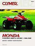1986-1988 HONDA ATC200X SERVICE