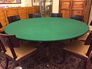 Amazon Com Green Felt Poker Table Cover Fitted Bonnet