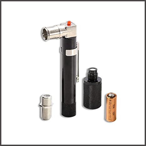 STEREN - Coaxial (Coax) Pocket Continuity Tester (Tracer) with Voltage  Toner (Sound) and Barrel Connector Bundle, for Testing, Labeling, and