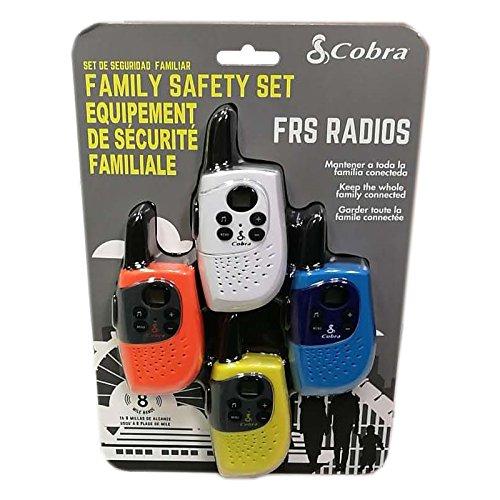 SH130-4 8-Mile 2-Way Radio/Walkie Talkies, 4-Pack